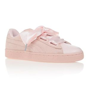 BASKET PUMA Baskets Heart Suede Bubble Pearl - Femme - Ro