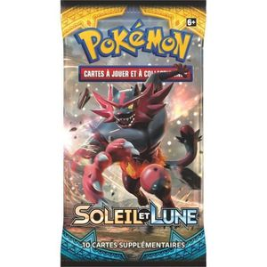 CARTE A COLLECTIONNER POKEMON - Soleil et Lune 1 - Booster SL01