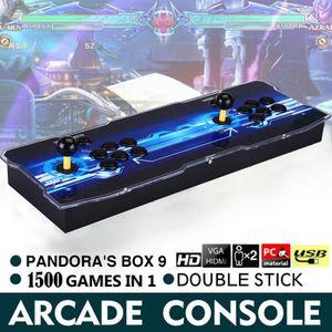 CONSOLE AUTONOME Pandora 9 Console de Jeux Vidéo Arcade, 1500 en 1