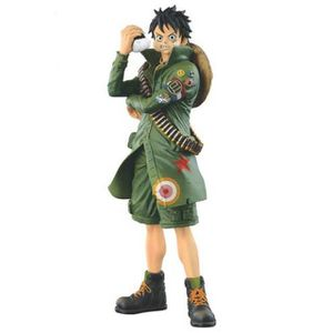 FIGURINE - PERSONNAGE ONE PIECE military style : Figurine Monkey D Luffy