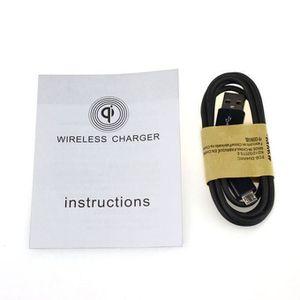 CHARGEUR TÉLÉPHONE Chargeur sans fil Samsung Galaxy S7 Qi