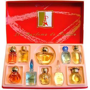 Parfum miniature de luxe pour salle de bain avec plateau pour meubles de