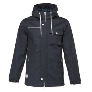 BLOUSON WESC Veste Hooded the field - Homme - Bleu