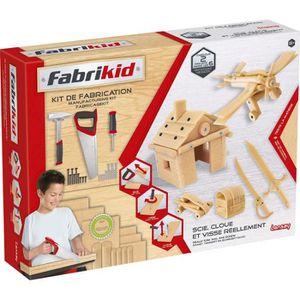 VOITURE À CONSTRUIRE LANSAY Fabrikid Kit De Fabrication