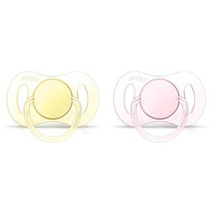 SUCETTE PHILIPS AVENT SCF151/02 Lot de 2 Sucettes orthondo