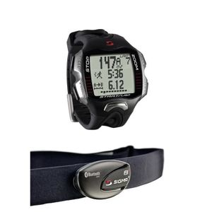 MONTRE OUTDOOR - MONTRE MARINE SIGMA Montre Cardio Rc Move avec Ceinture Conforte