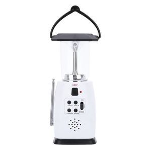 LAMPE DE POCHE Lampe de poche à manivelle portable 8 LED avec lan