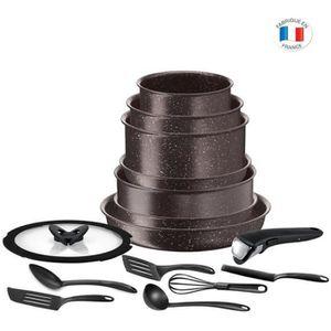 BATTERIE DE CUISINE TEFAL L6789102 Ingenio extrême Batterie de cuisine