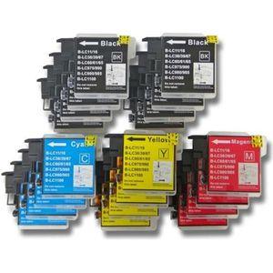 CARTOUCHE IMPRIMANTE 20 cartouches d'encre pour imprimante Brother DCP-