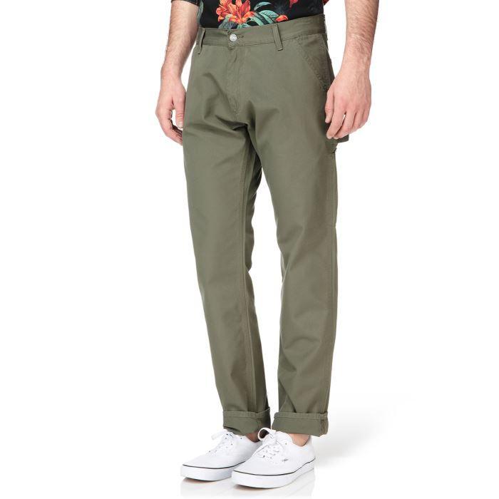 CARHARTT Pantalon Lincoln Single Kaki Homme