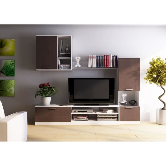 baak meuble tv mural 220 cm achat vente meuble tv baak s jour tv 220 cm panneaux de. Black Bedroom Furniture Sets. Home Design Ideas