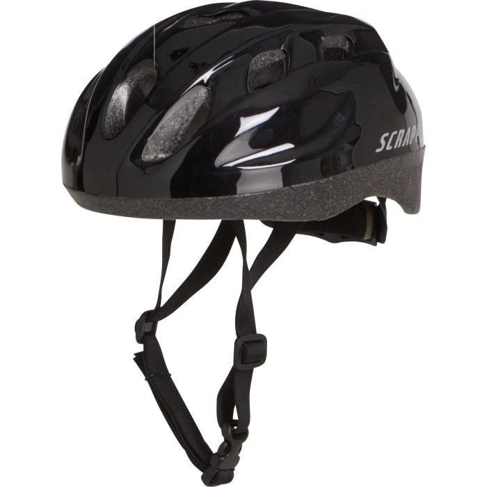 CASQUE DE VÉLO 1ER PRIX Casque de vélo Urban II - Homme - Noir