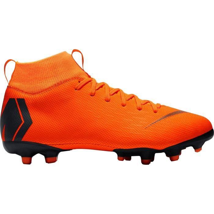 NIKE Chaussures de football Mercurial Superfly 6 Academy - Enfant - Orange