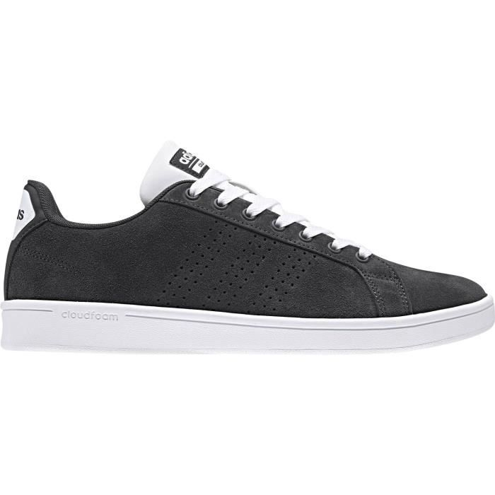 ADIDAS Baskets Cloudfoam Advantage Clean - Homme - Gris