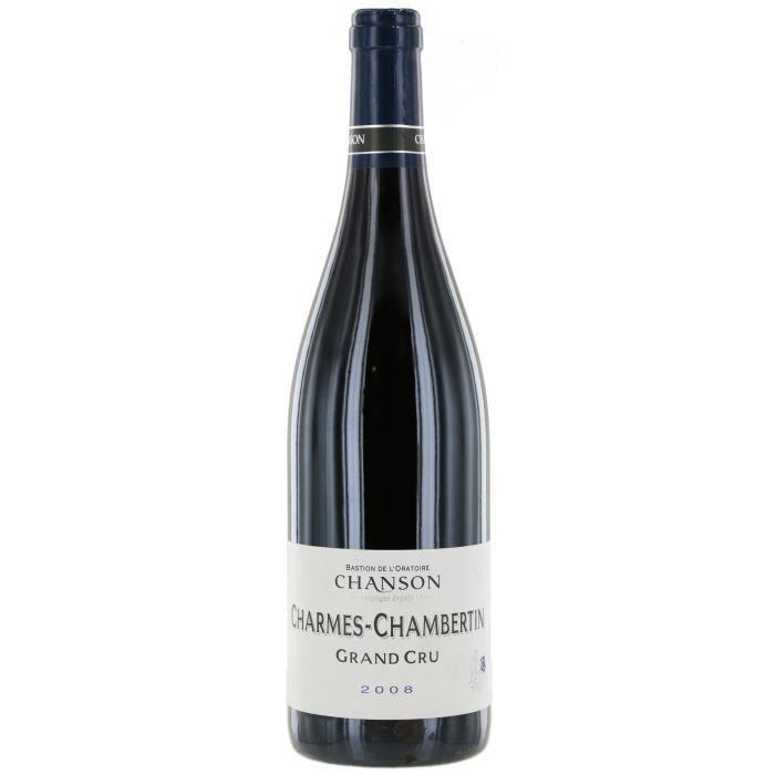 Bastion de l'Oratoire Chanson 2008 Charmes-Chambertin Grand cru - Vin rouge de Bourgogne