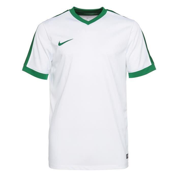 NIKE T-shirt Unisexe Striker IV - Blanc et vert