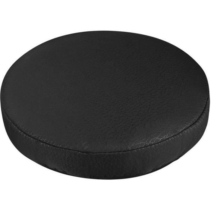 1pc housse de tabouret Durable de protection pratique de chaise ronde pour salon à la COUSSIN DE CHAISE - GALETTE DE CHAISE
