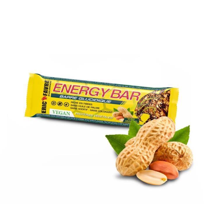 ENERGY BARRE VEGAN Display de 20 unités Cacahuète