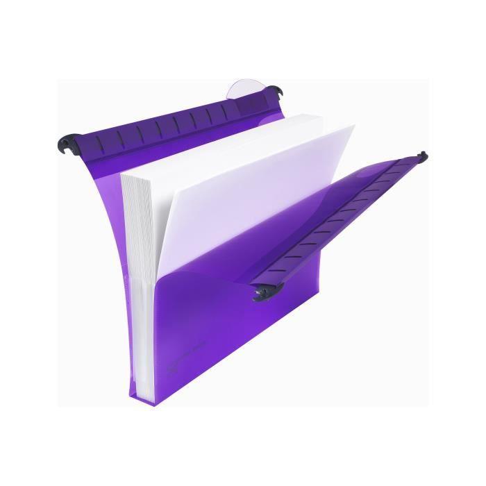 Rexel Multifile Extra Dossier suspendu base-V Foolscap pour 150 feuilles à onglets couleurs assorties (pack de 10)