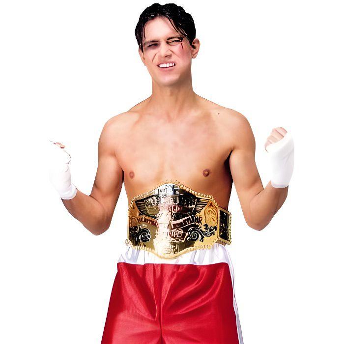 Ceinture de champion de boxe adulte