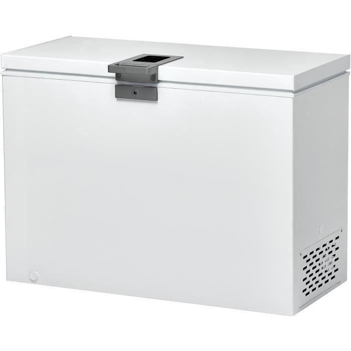 CANDY CMCH302EL - Congélateur coffre - 291L - Froid statique - A+ - L105,5 x H83,5 cm - Blanc