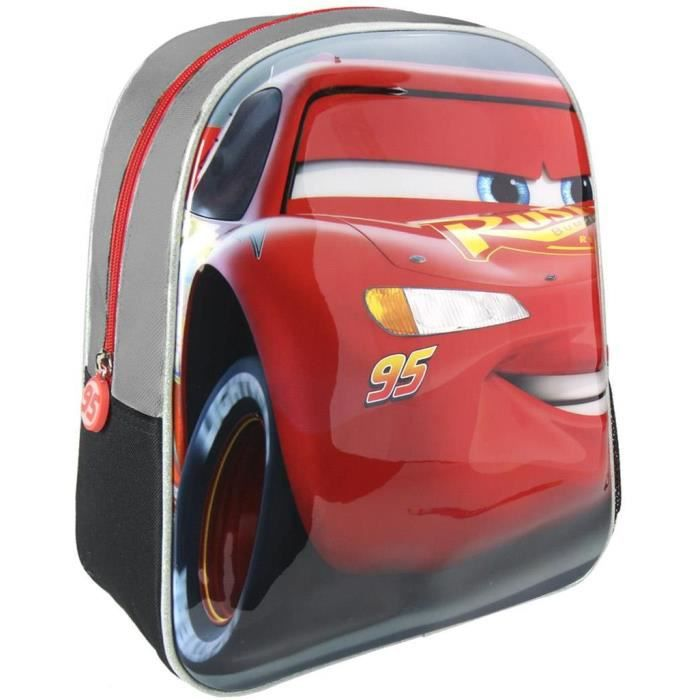 Disney sac à dos cars 3 3d enfant