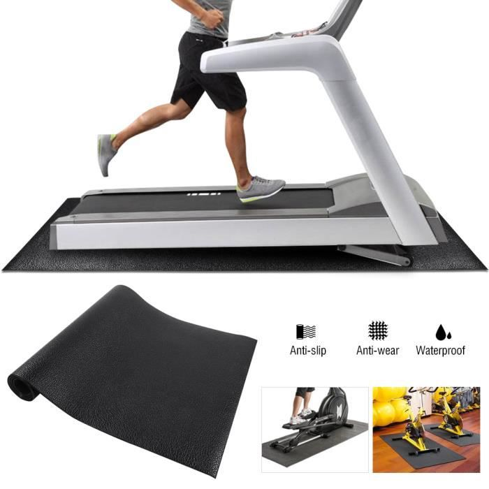 Tapis de course Tapis de sol Grand Tapis de gymnastique pour exercice de fitness Exercice (grand) -ZOO