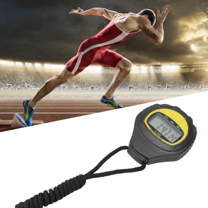 Grand chronomètre de poche numérique multifonctionnel domestique, chronomètre de Sport, minuterie de remise en forme pour