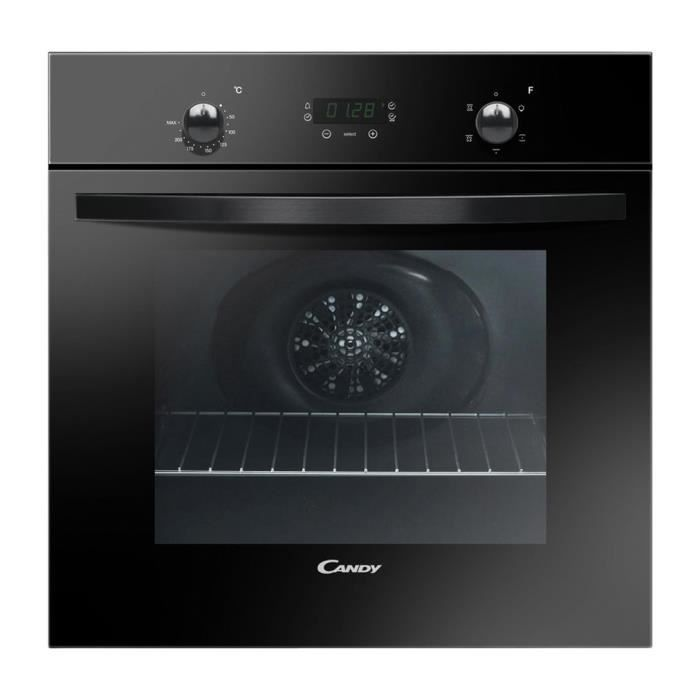 CANDY FST249 / 6N - Four électrique encastrable à convection naturelle - 65L - Catalyse - A - Noir