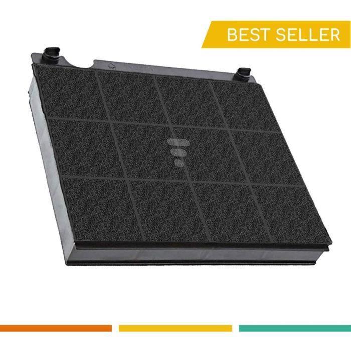 Electrolux Type 15 - Filtre charbon hotte 230x210x30mm (E3CFE15) - Wpro MOD15 Filtre de Hotte (ex AMC027)