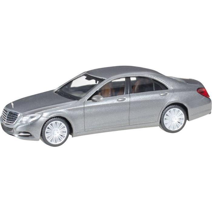 VEHICULE MINIATURE ASSEMBLE - ENGIN TERRESTRE MINIATURE ASSEMBLE - Mercedes Benz Classe S Herpa 038287-004 H0 1 pc(s)