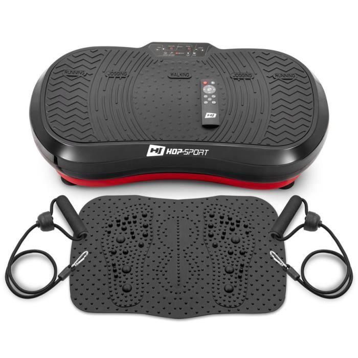 Plateforme vibrante HS-050 VS Nexus - Tapis de massage - Extenseurs - Télécommande - Perte de Poids Rapide