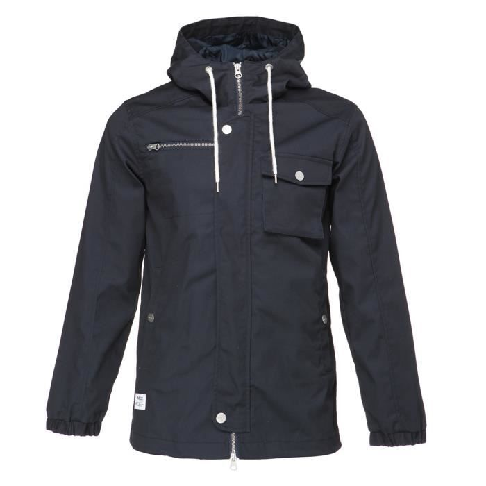 WESC Veste Hooded the field - Homme - Bleu