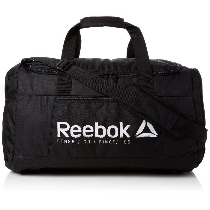 Reebok BVE83 Sac de Sport Garçon, Noir, Taille Unique
