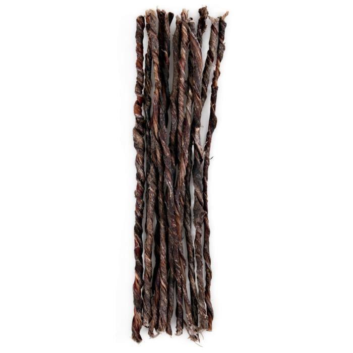Gorge de boeuf, séchée mikados - 25 cm, 60 g - Lot de 5