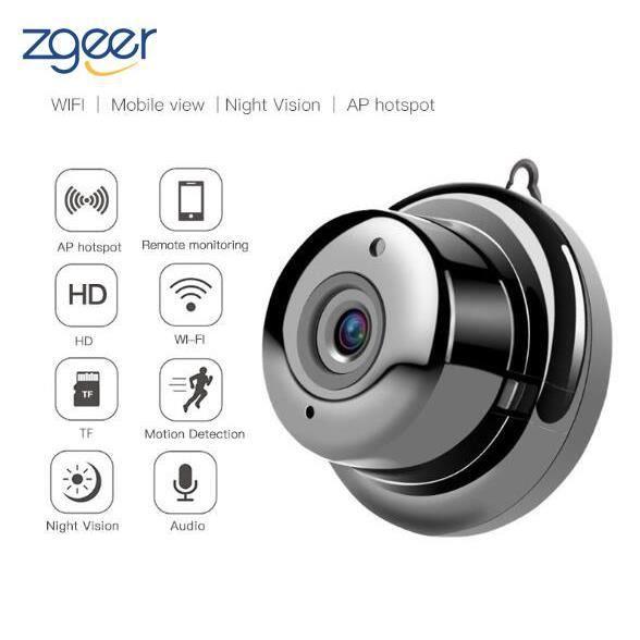 Mini Camera Espion HD Portable Petite Caméra avec Vision Nocturne et Détection de Mouvement Caméra de Surveillance pour iPhone/ Andr
