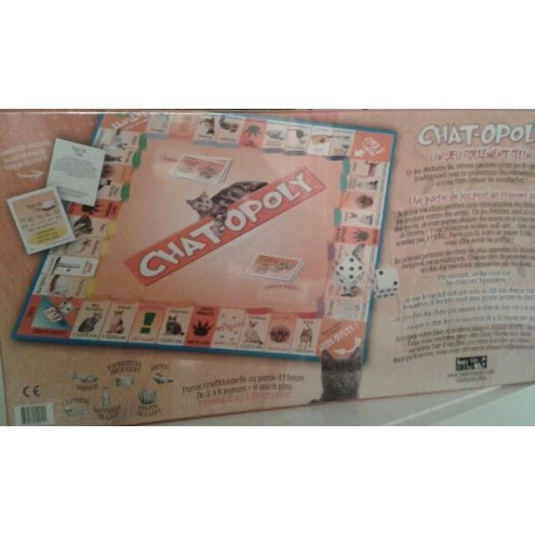 Chat opoly achat vente jeu soci t plateau cdiscount for Dujardin 41299 chrono bomb night version