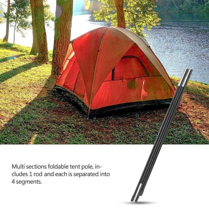 Outdoor Tente de camping Pole 2/pcs//lot de 8,5/mm en alliage daluminium Tente Tente de tige de remplacement B/âtons de support Accessoires