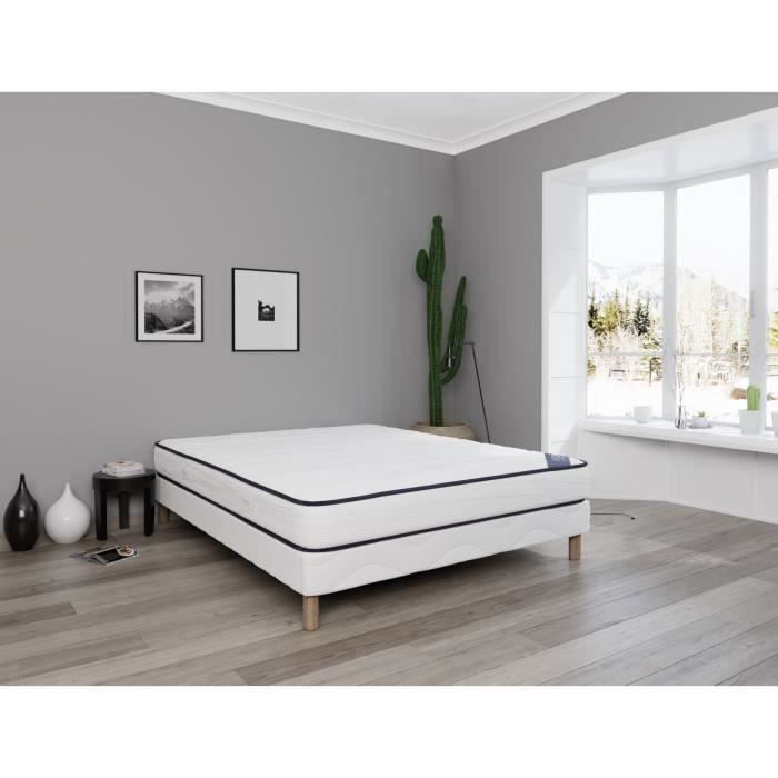matelas 140x190 20cm ferme achat vente matelas cdiscount. Black Bedroom Furniture Sets. Home Design Ideas