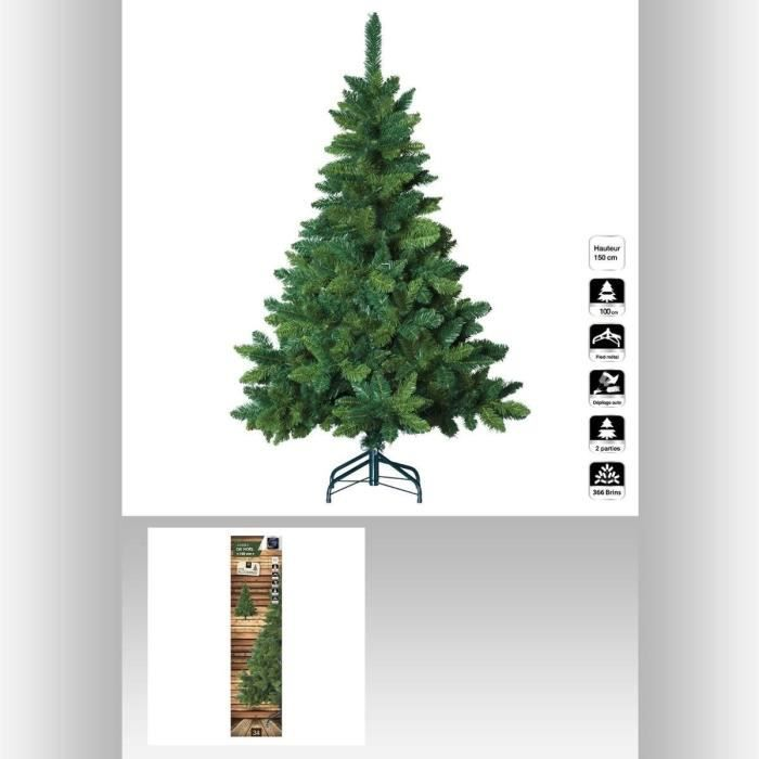 sapin de no l artificiel blooming 150 cm achat vente sapin arbre de no l m tal cdiscount. Black Bedroom Furniture Sets. Home Design Ideas
