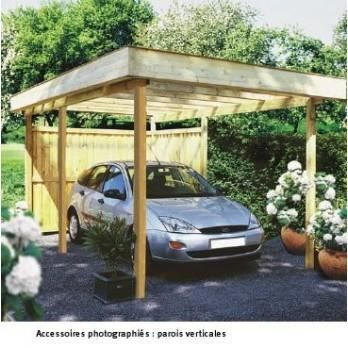 carport le mans 500x300 pour 1 voiture sans c achat vente carport carport le mans. Black Bedroom Furniture Sets. Home Design Ideas