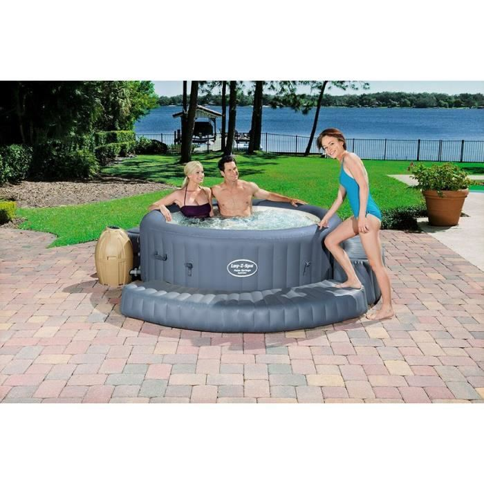 Entourage gonflable type marche rond pour spa achat - Jacuzzi gonflable brico ...