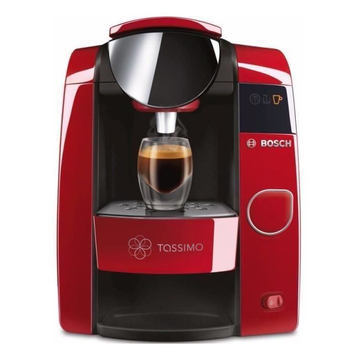MACHINE À CAFÉ BOSCH TASSIMO Joy TAS4503 - Rouge