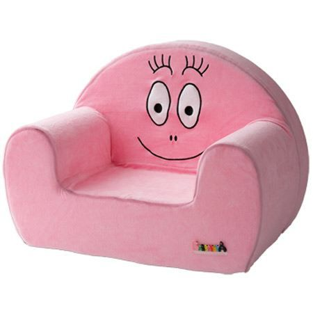 barbapapa fauteuil rose achat vente fauteuil canap. Black Bedroom Furniture Sets. Home Design Ideas