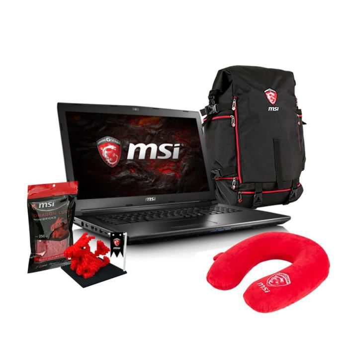 msi pack pc portable gamer gl72 7qf 1024xfr dragon fever. Black Bedroom Furniture Sets. Home Design Ideas