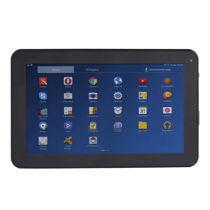 TABLETTE ENFANT Tablette 9'' compatible Bluetooth aille Unique Col