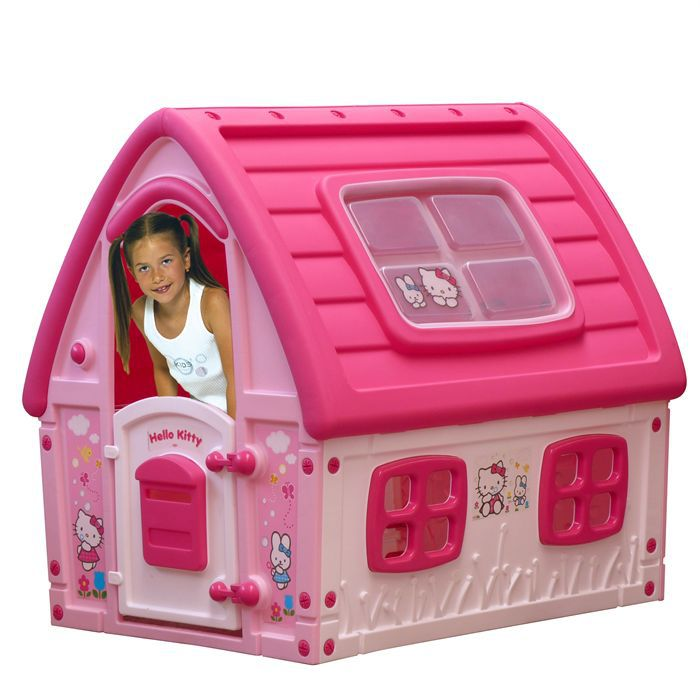hello kitty fairy house achat vente maisonnette ext rieure cdiscount. Black Bedroom Furniture Sets. Home Design Ideas