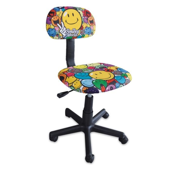 Smiley chaise de bureau enfant petit mod le achat for Set de bureau fantaisie