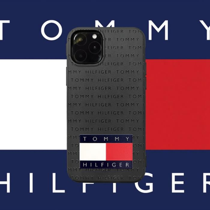 coque iphone 11 tommy hilfiger noir 1 antichoc pre