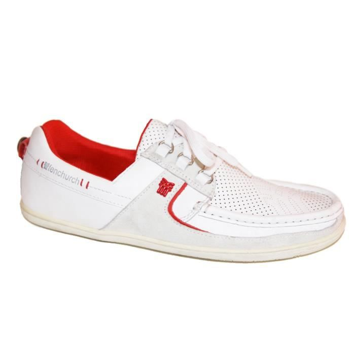 samples shoes FENCHURCH FENSPEED WHITE MEN